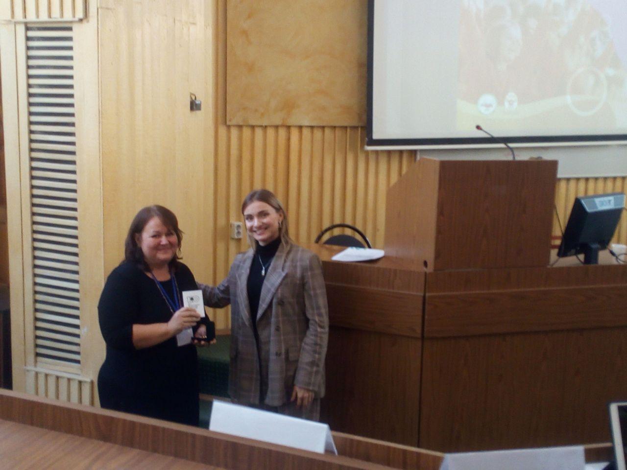 Награждение Севастьянова