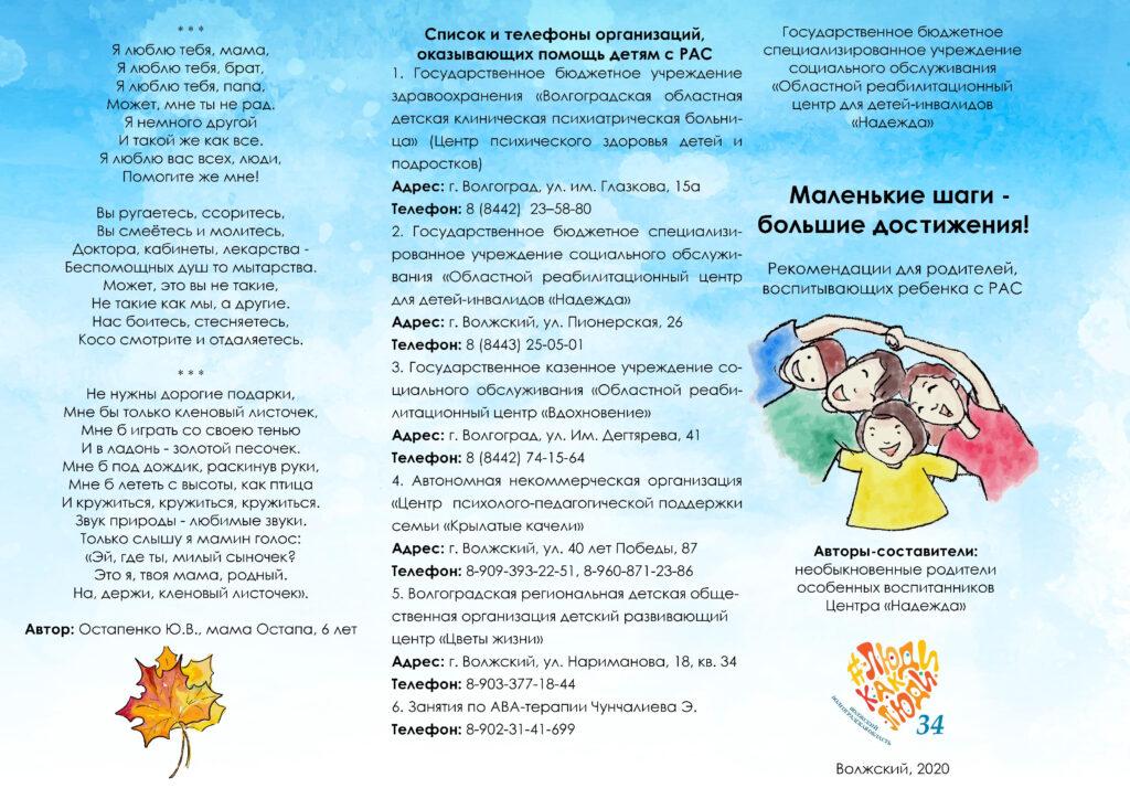 Список организаций и рекомендации для родителей ЛИСТОЧЕК 2020 Люди-0